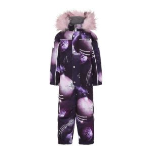 Molo - Polaris Faux Fur Flyverdragt Shooting Stars