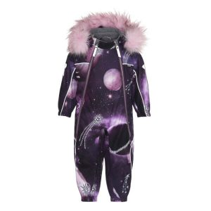 Molo - Pyxis Faux Fur Flyverdragt Shooting Stars