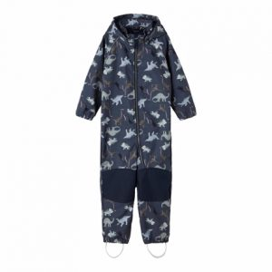 NAME IT Softshell Dragt Dino Ombre Blue